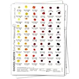 Daniel Smith Watercolor 238 Dot Color Chart