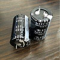 NO LOGO LSB-Capacitor, 2pcs 330uF 400V 25x40mm 400V330uF
