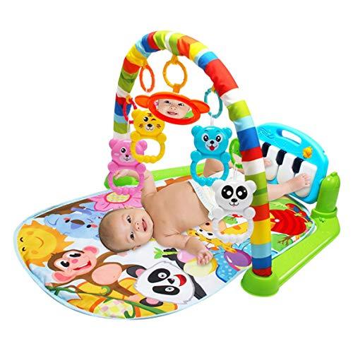 Tivolii Multifunción Baby Play Mat Toddler Gym Juguete Alfombra de la Alfombra del Piso con música Pedal de Piano Marco de...