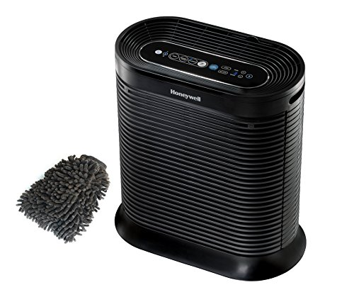 Honeywell HPA250B Air Purifier Filter, True HEPA Allergen Remover, Bluetooth (Complete Set) w/ Bonus: Premium Microfiber Cleaner Bundle