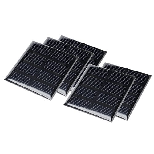 uxcell 5Pcs 2V 160mA Poly Mini Solar Cell Panel Module DIY f