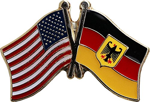 Germany Flag Lapel Pin (Germany (Eagle) - Friendship Lapel Pin)