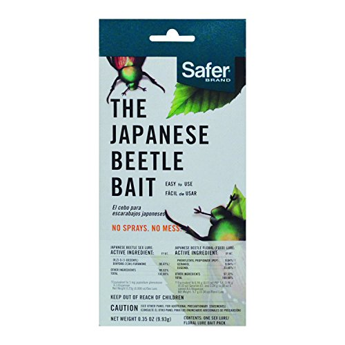Safer Brand Japanese Beetle Trap Bait Replacement (Trap Replacement Bait)