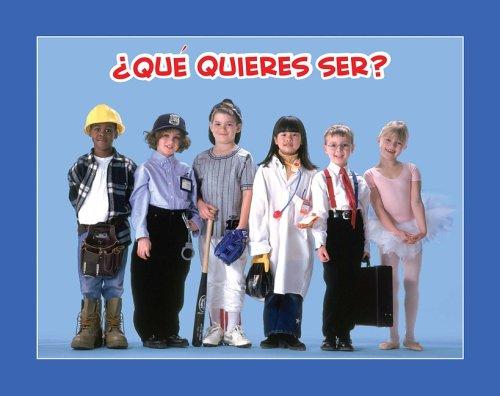 Download Que quieres ser? (Facil De Leer/ Easy Readers) (Spanish Edition) pdf