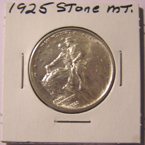 1925 Stone Mountain Commemorative Half Dollar, BU by