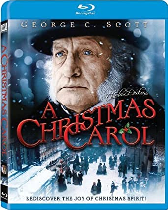 Christmas Carol.Amazon Com A Christmas Carol Blu Ray George C Scott
