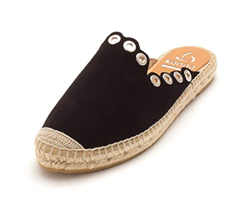 Kanna Zapatos Dora Zapatillas Alpargatas Nero Mujer: Amazon.es: Zapatos y complementos