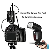 PIXEL Opas Channel Wireless Remote Flash Trigger with Receiver Wireless Shutter Release Remote Control High-speed for Canon DSLR