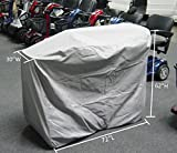 Ultra Large Mobility Scooter Storage Cover 72'' L x 30'' D x 62'' H