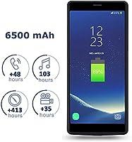 Mondpalast@ Negro Externos 6500mah batería Funda Cargador Para Samsung Galaxy Note 8 NOTE 8 note 8 N9500 N950F