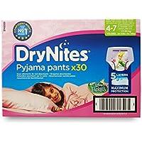 Braguitas Huggies DryNites para niñas de 4 a