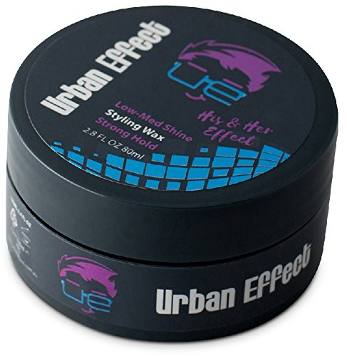 Urban Effect His N Hers Effect Workable Hair Wax for Men and Women, Rockstar Effect, Hair Wax, Low-Med Shine, Easy Styling (3.4 oz) ON SALE NOW