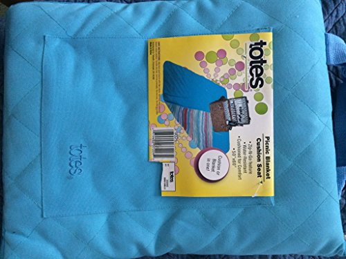 Foldable Outdoor Picnic Blanket Tote Cushion Seat 50'' X 60'' by Totes
