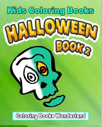 Kids Coloring Books - Halloween Book 2