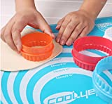 NELPLA Two Side Round Cookie Cutters,Biscuit