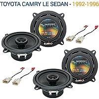 Toyota Camry LE Sedan 1992-1996 OEM Speaker Upgrade Harmony (2) R5 Package New