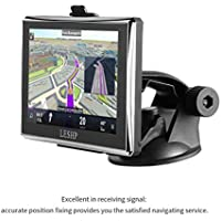 Car GPS Navigation 5inch LESHP Touch Screen GPS Device with Built-in 8GB ROM,FM,MP3, MP4, Lifetime Map