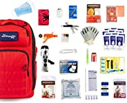 Complete Earthquake Bag - Emergency Kit for Earthquakes, Hurricanes, Wildfires and other Disasters - Built for
