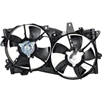 MAPM Premium MPV 02-05 RADIATOR FAN SHROUD ASSEMBLY, Dual Fan, w/o Towing Package