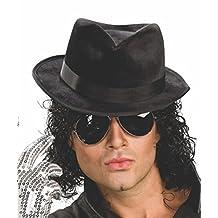 Rubies Costume Michael Jackson Adult Black Fedora Hat