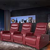 FDW Power Sofa Recliner Sofa Home Theater Seating