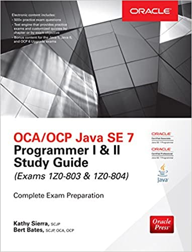 Ocp Java Se 7 Programmer Study Guide Ebook