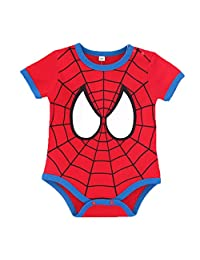 GERGER BO Spiderman Pajamas, Superman Batman Captain Baby Outfits