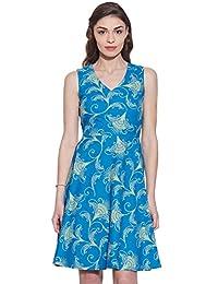 Summer Printed Casual Short Dress Cotton Women Sundress Gift For Her