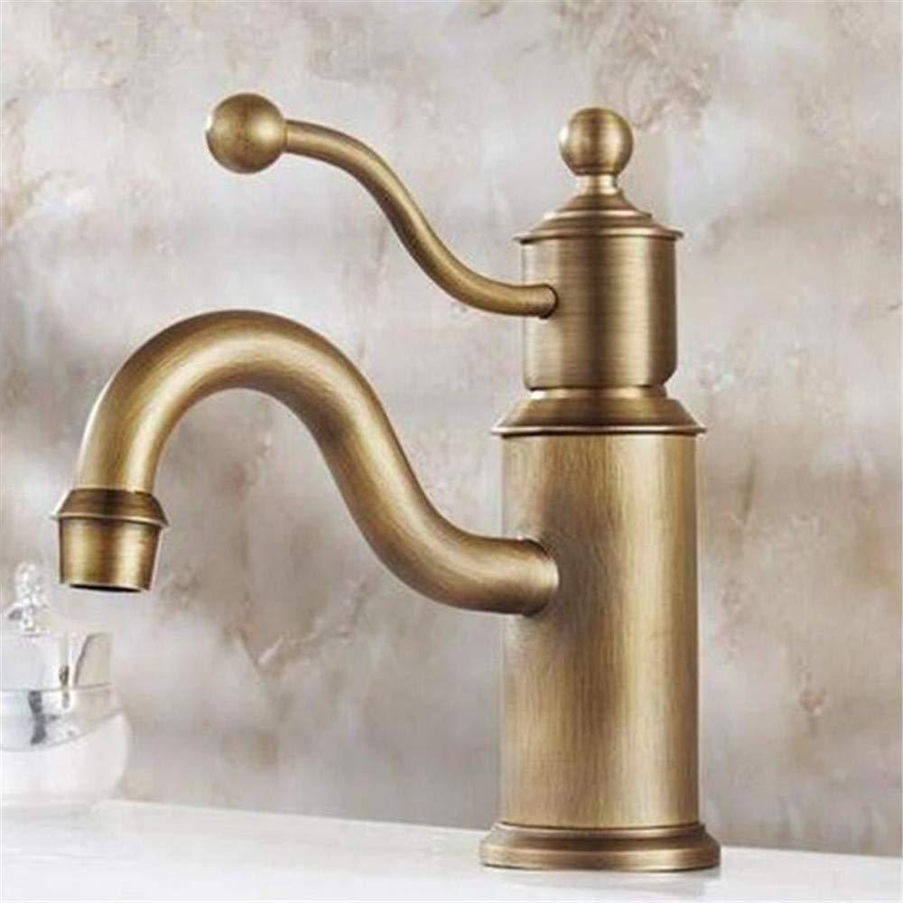 Luxus Überzogene Mischerhahn Heißes Wasser Sitzt In Muddy Waters Einloch-Thermostat Wassh Becken Wasserhahn