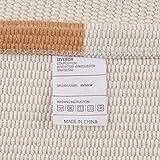 LIVEBOX Cotton Area Rug,Hand Woven Tufted Rug