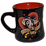 Disney Parks Original Minnie Mouse Tattoo 16oz Coffee Cup Mug 2 Sided