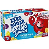Kool-Aid Zero Sugar Jammers Tropical Punch Flavored