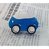 Vita Hardware Soft Rubber Children Cabinet Wardrobe Cupboard Knob Drawer Cartoon Dresser Door Pulls Handles Car pack of 5 (Blue)