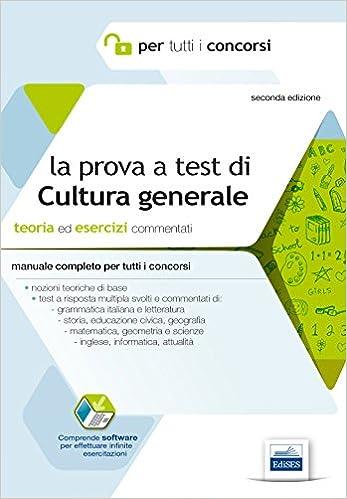 test cultura generale corso oss