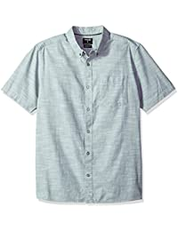 Men's One and Only Textured Short Sleeve Button up