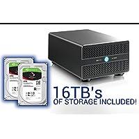 Thunder2 Duo Pro 16TB HDD (Seagate Iron Wolf Pro 8TB HDD x 2 ) : ST8000NE0021