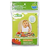 Sesame Street Biodegradable Table Topper Disposable Stick-on Placemat, 30-Count