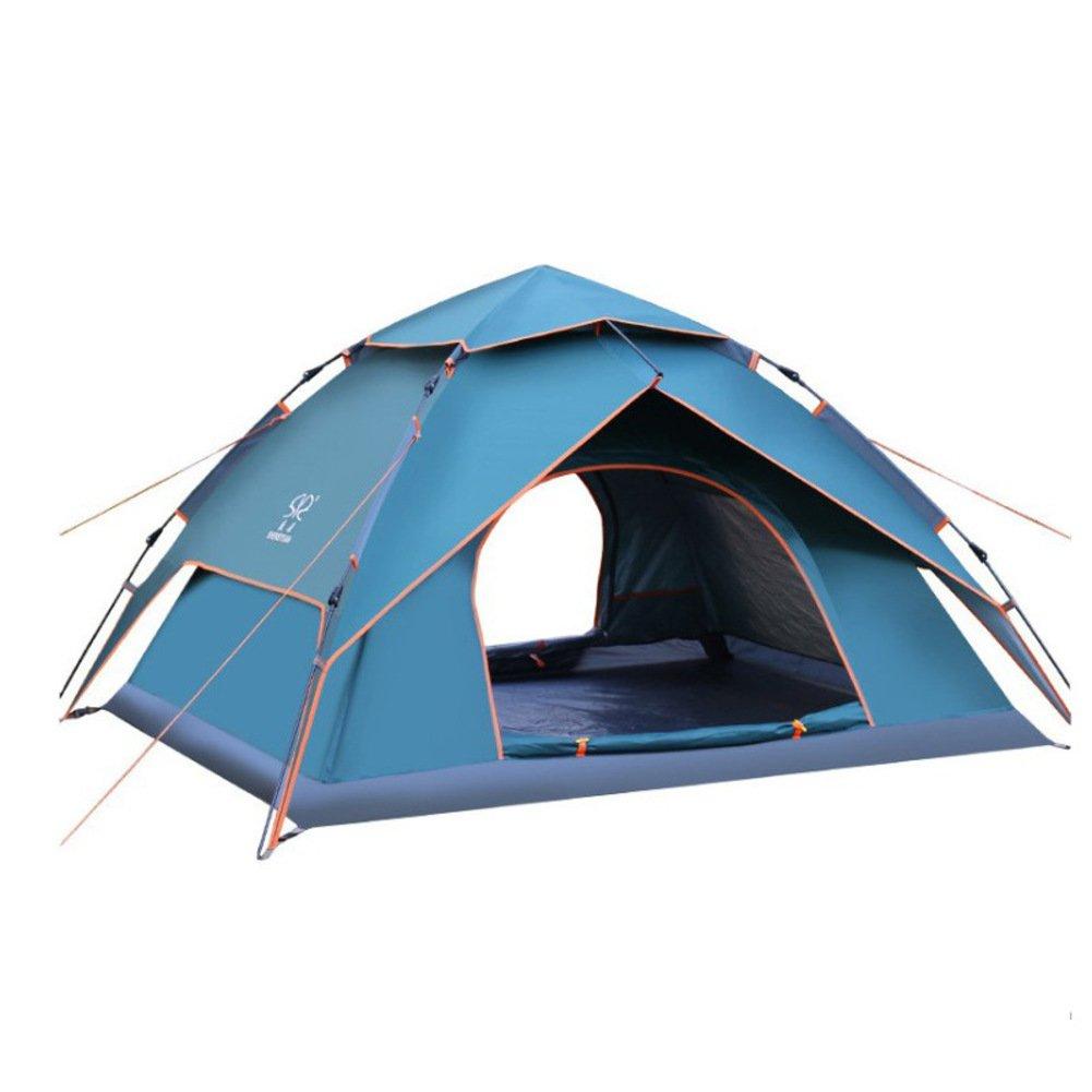 TY&WJ Campingzelt Double Layer Kuppelzelte Für Outdoor-sportarten Klettern Wandern Zelte Wasserdicht 3-4 Personen