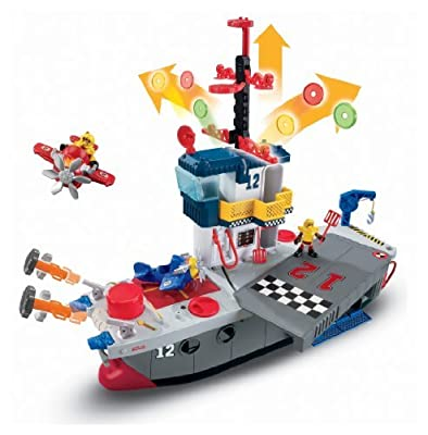 Imaginext Sky Racers Aircraft Carrier by Fisher-Price