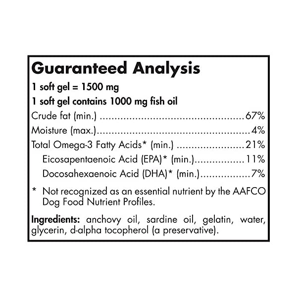 Nordic Naturals Omega 3 Pet - Special Dog Formula Fish Oil Omega-3s, EPA, DHA Supports Skin, Coat, Joint, Heart and Overall Health in Triglyceride Form for Optimal Absorption 3