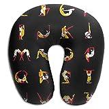 Kamasutra Washable Cover Neck Pillow Orthopedic Memory Foam U-SHAPE For Travel Everyone