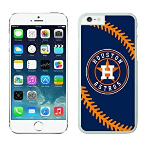 Popular iPhone 6 plus Case,Houston Astros Customized iPhone 6 plus 5.5 Inch TPU Case 1 White