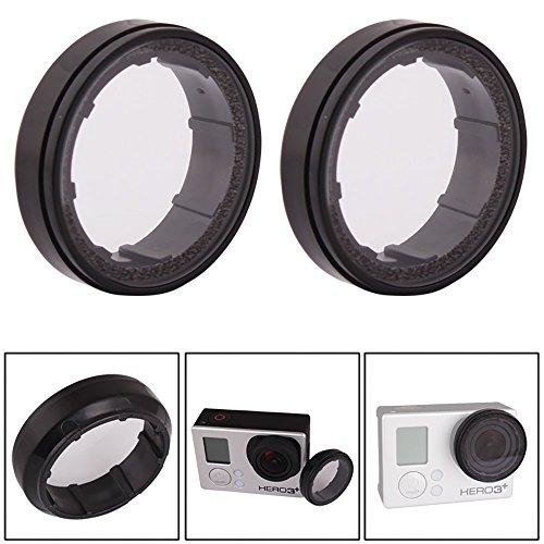 Koroao 2pcs 2x UV Protective Glass Protect FPV Lens for GoPro HD Hero 3/3+/4 Camera