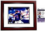 Rogers Clemens Signed - Autographed Toronto Blue Jays 11x14 inch Photo MAHOGANY CUSTOM FRAME - JSA Certificate of Authenticity