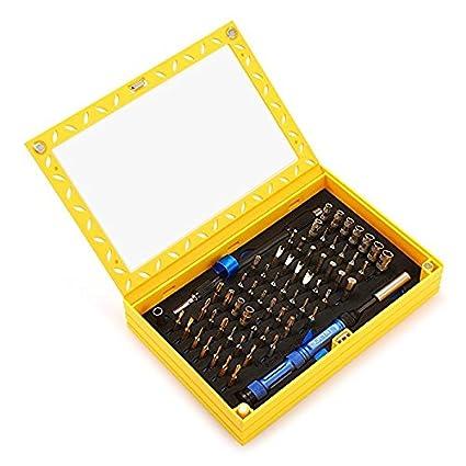 InLife 81 en 1 Juego Destornilladores Precisión, Caja de Herramientas Completa con Múltiples Funciones, Herramientas de Precisión para Reparar ...