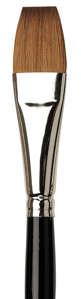 Size 14 One Stroke Flat Kolinsky Red Sable 1311-14 da Vinci Watercolor Series 1311 Maestro Paint Brush