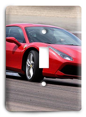 New Ferrari 488 GTB v2291 Light Switch Cover