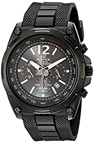 Casio Men's EFR-545SBPB-1BVCF Edifice Tough Solar Black Watch