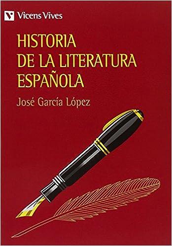 Historia De La Literatura Espa–ola.: Amazon.es: García López, José: Libros