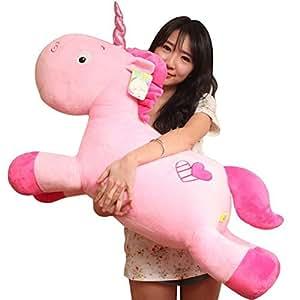 Mystery&Melody Lindo peluche Unicornio relleno peluche Unicornio peluche peluche felpa juguete niñas juguetes suaves